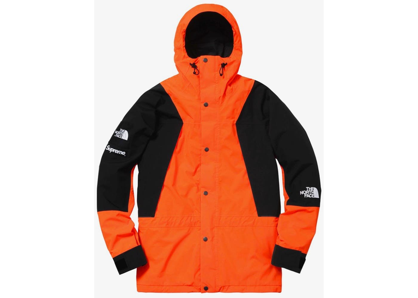 Supreme The North Face Mountain Light Jacket Orange – SEVENDAY d2ef133e6