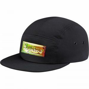 ad7bfbe4 SUPREME IRIDESCENT LOGO CAMP CAP