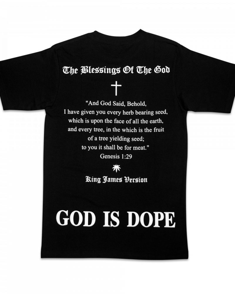 "TREZ "" GOD IS DOPE "" TEE"