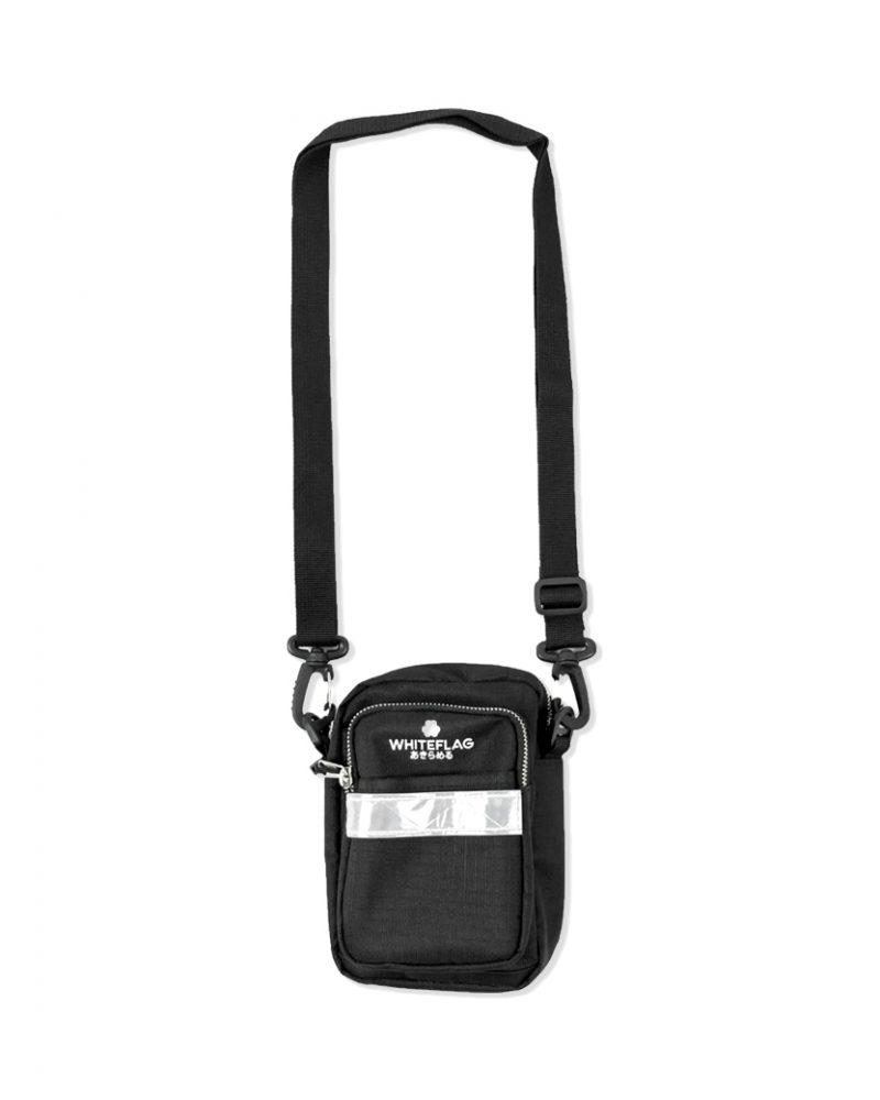 WHITEFLAG SHOULDER BAG BLACK