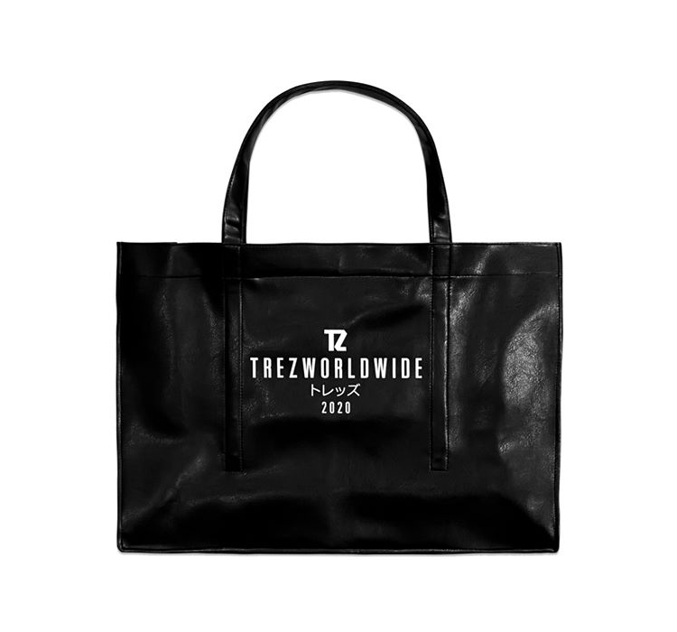 LEATHER OVERSIZED TOTE BAG