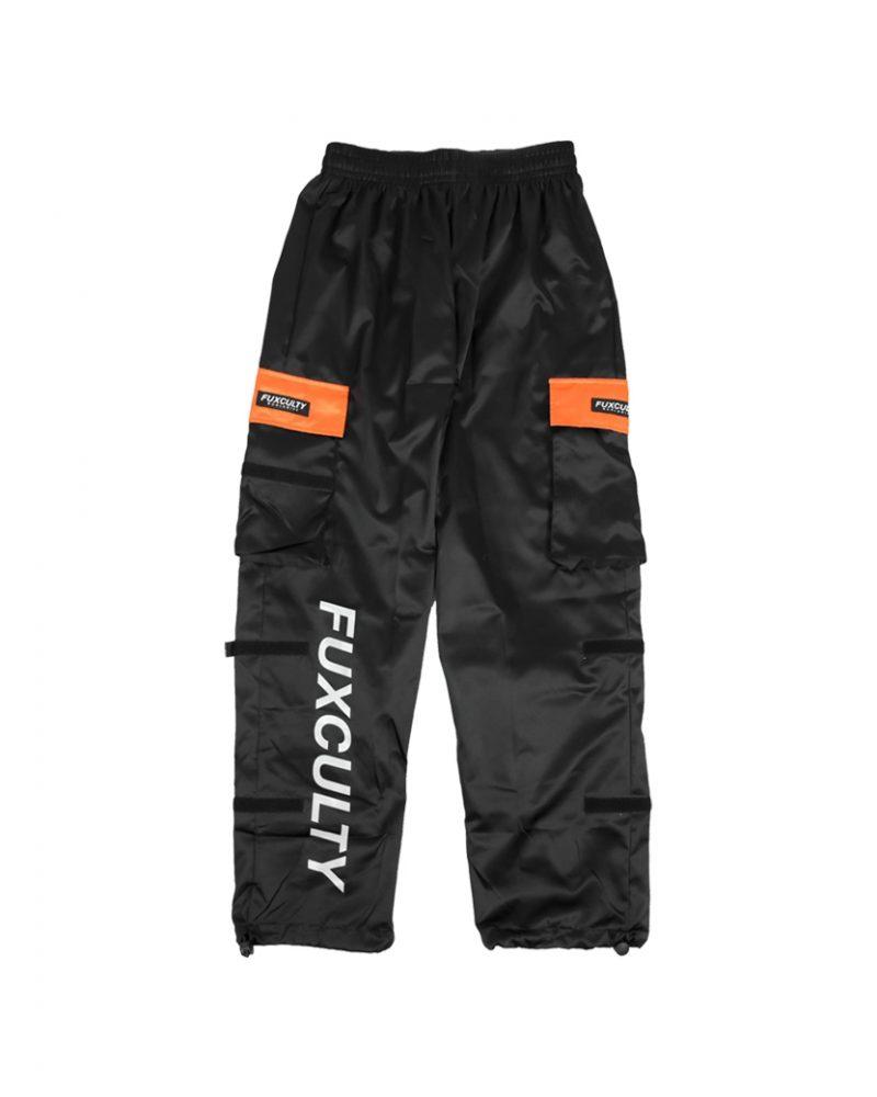 FUXCULTY NYLON PANTS BLACK