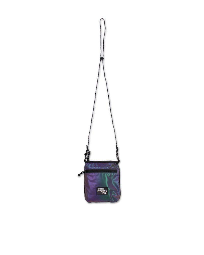 PRETTYBOYGEAR DOUBLE RING RAINBOW REFLECT SHOULDER BAG