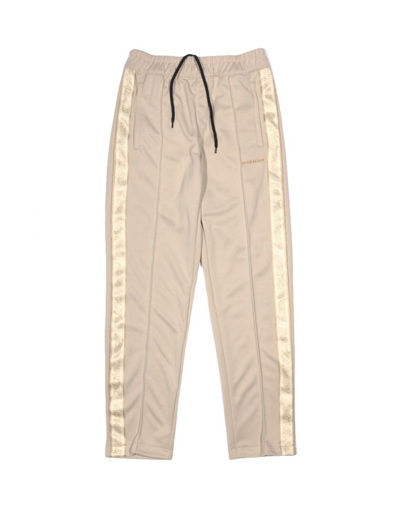 GET RICH EASY TAPED TRACK PANTS KHAKI