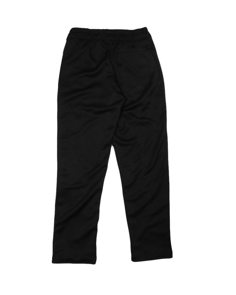 GET RICH EASY TAPED TRACK PANTS BLACK