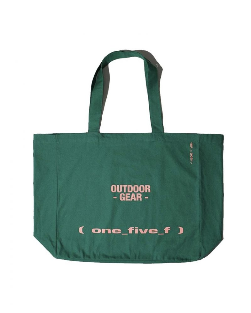 OUTDOOR GEAR OVERSIZED TOTE BAG GREEN