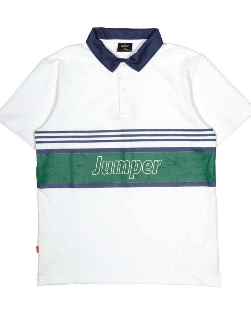 JUMPER X GETRICHEASY POLO SHIRT - WHITE