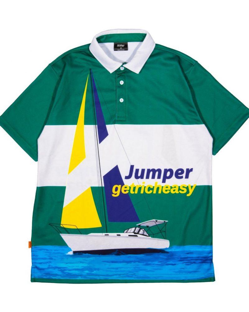 JUMPER X GETRICHEASY POLO SHIRT - YACHT CLUB