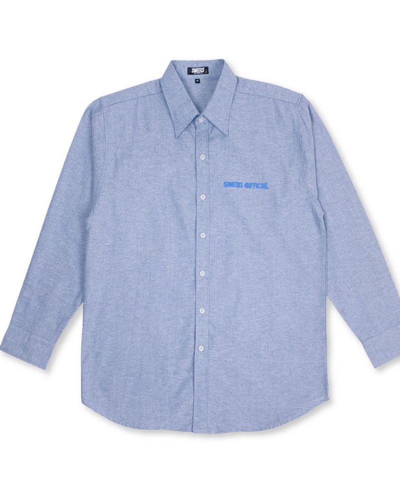 SWEEKS BIKINI L/S SHIRT BLUE